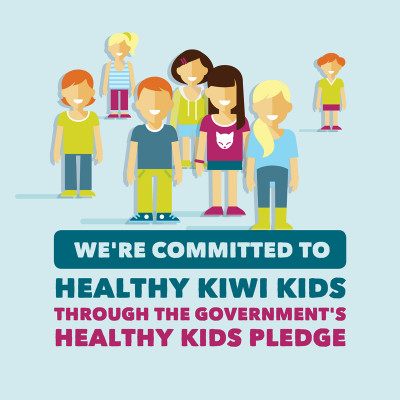 nzbc positions healthy kids pledge